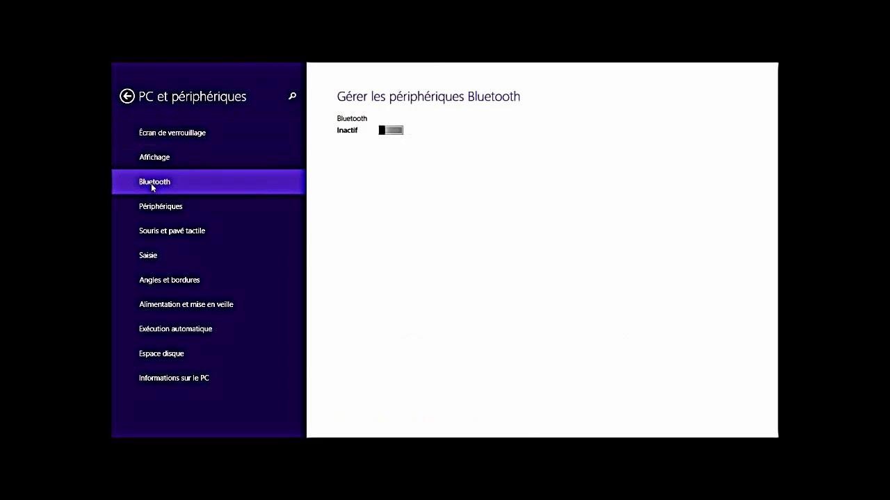 Comment activer le Bluetooth sur Windows