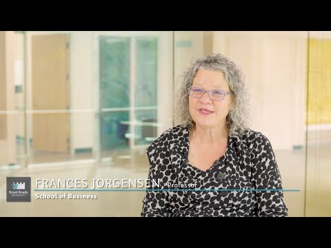 Research In Action: Frances Jorgensen