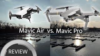 Mavic Air vs. Mavic Pro Footage Comparison