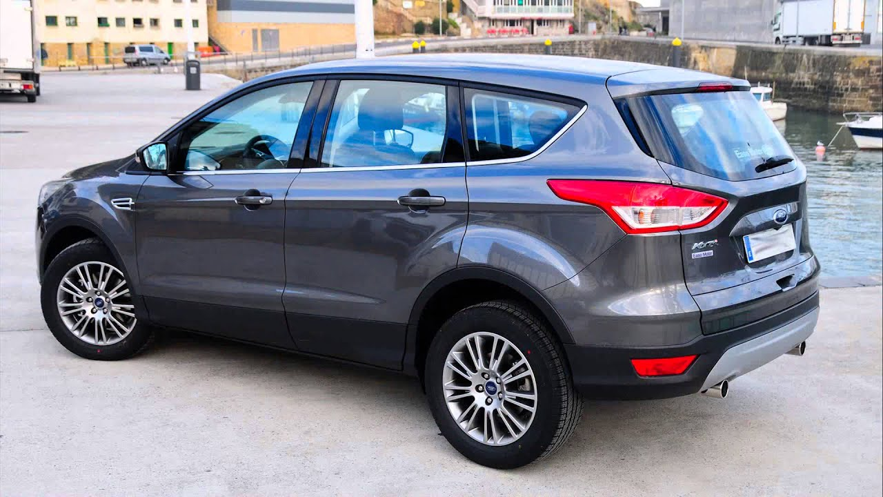ford kuga 1 6 ecoboost titanium at youtube. Black Bedroom Furniture Sets. Home Design Ideas