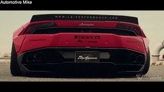 First Liberty Walk Lamborghini Huracan w/ Fi Exhaust