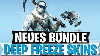 NEW SKIN BUNDLE | DEEP FREEZE WINTER SKINS FOR 30€ | Fortnite Battle Royale