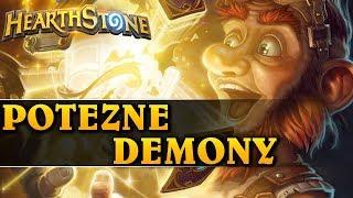 POTĘŻNE DEMONY - WARLOCK - Hearthstone Dungeon Run