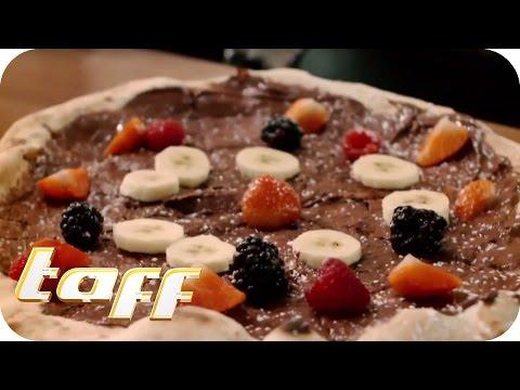 NUTELLA PIZZA? Die neusten Foodtrends mit Georg Stengel | taff | ProSieben