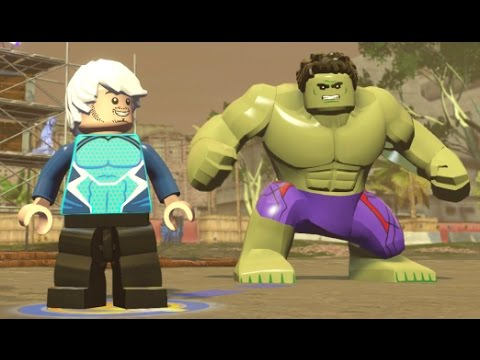 LEGO Marvel's Avengers - South Africa 100% Guide (All Collec