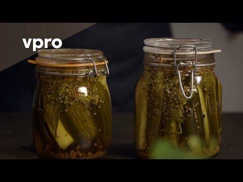 Zoetzure komkommer recept