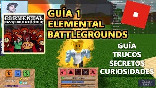Elemental Battlegrounds, How to Play and Become SSJ, Roblox English Tutorial Tutorial 1