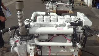 Cummins Marine 6BT 5.9 210 with DMT 90 3.46 Transmission - Engine Test