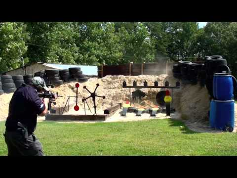 Slide Fire Solutions Stock Shooting Action