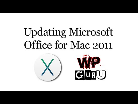 Updating Microsoft Office for Mac 2011 - despite Microsoft Database Daemon and SyncServicesAgent