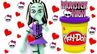 Monster High Play Doh Cartoon & Stop Motion Movie