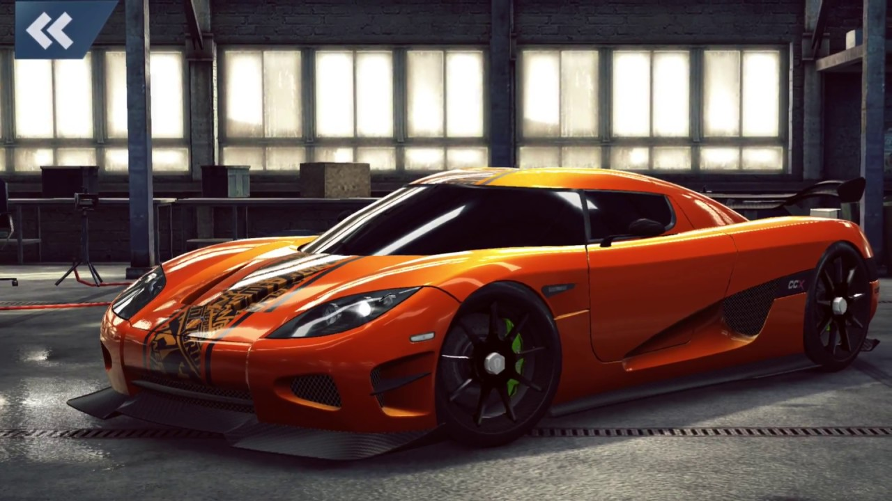 No Limits Garage : Need for speed no limits complete garage in k iphone