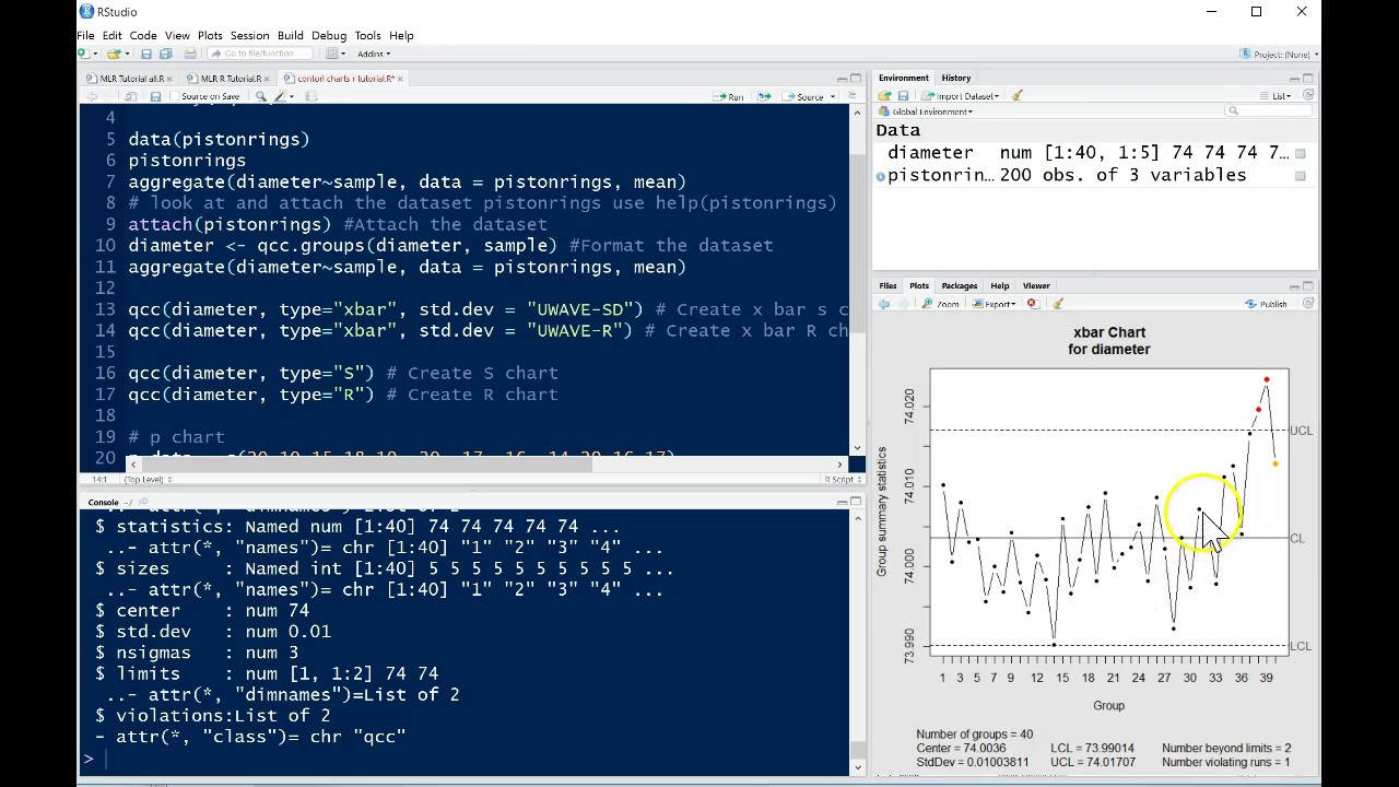 Qcc package for control charts in r tutorial youtube qcc package for control charts in r tutorial geenschuldenfo Image collections