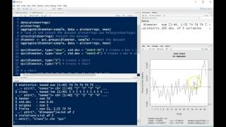 qcc package for control charts in R tutorial