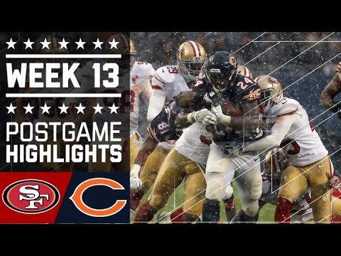 49ers vs. Bears   NFL Week 13 Game Highlights