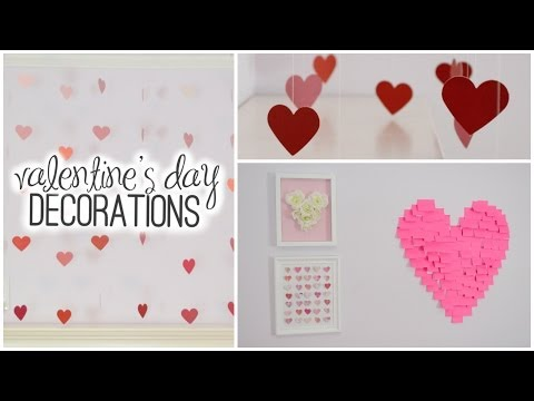 DIY Room Decorations for Valentine's Day! ♡