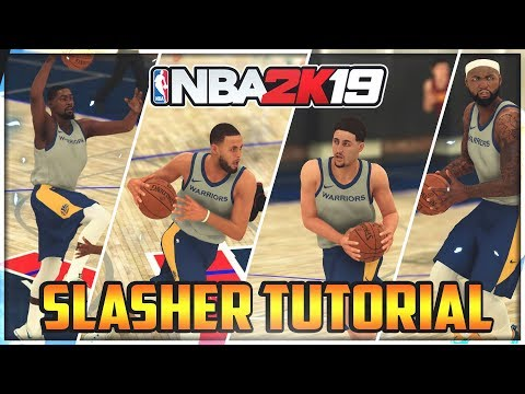 SLASHER TUTORIAL: HOW TO BRANCH EURO, HOP STEP, CRADLE AND SPIN TO DUNK IN NBA 2K19!