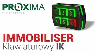 Immobiliser klawiaturowy IK firmy Proxima