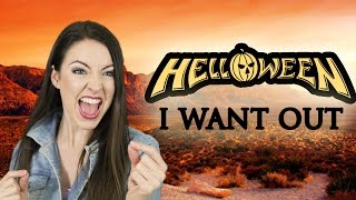 Helloween - I Want Out 🎃  (Cover by Minniva feat. Mr Jumbo)