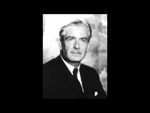 Anthony Eden Speech on the Suez Canal, 1956