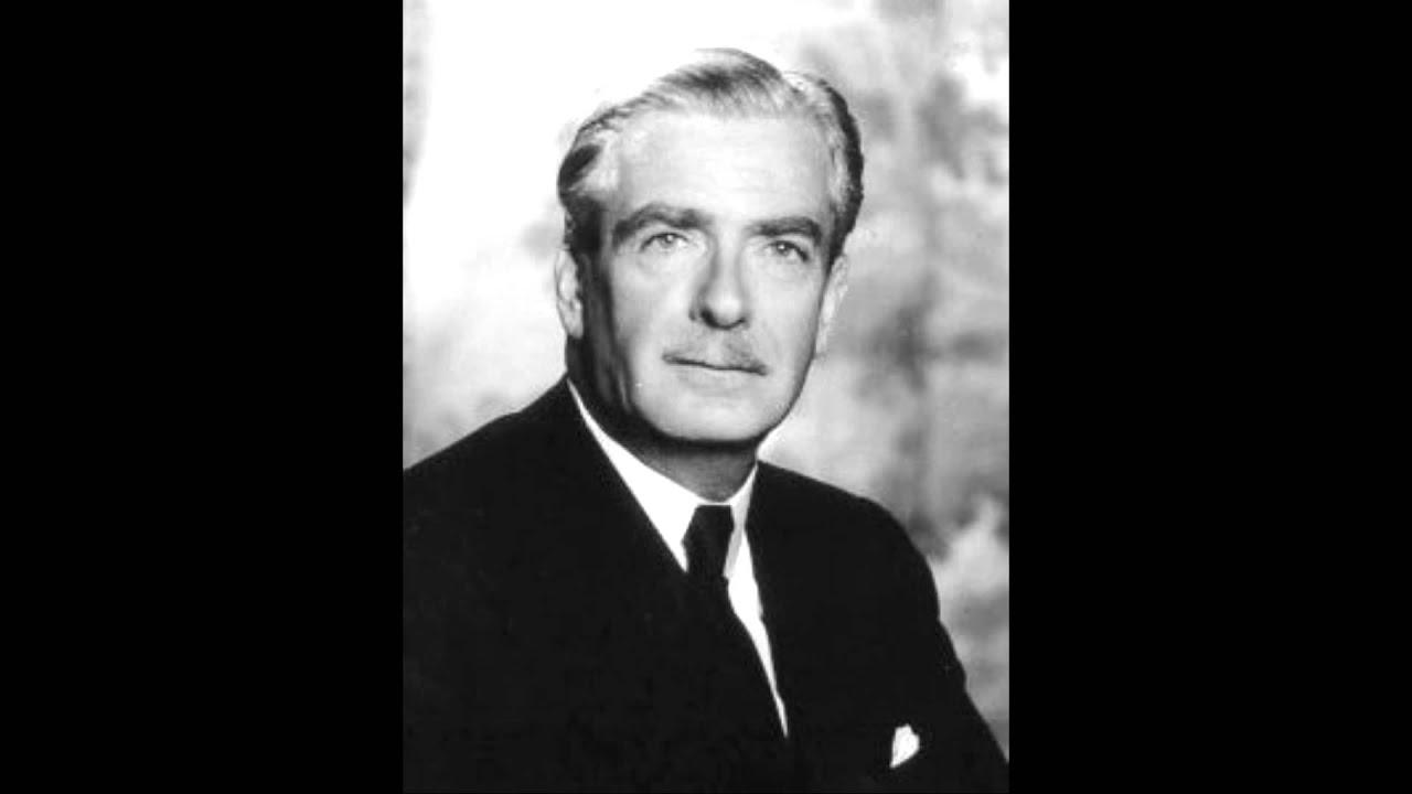 Anthony Eden Speech Suez Canal 1956