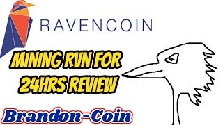 Mining Raven coin 24hr review