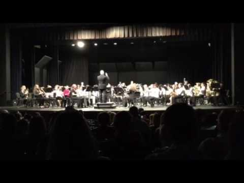 Limestone Middle School Honors band 2016