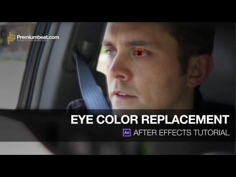 Video Tutorial: Changing Eye Color in After Effects