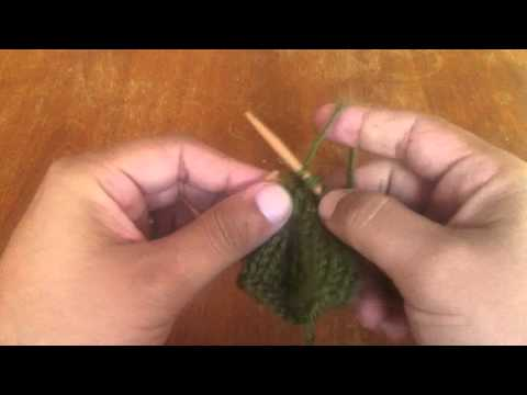 How to Knit the Center Double Decrease (cdd)