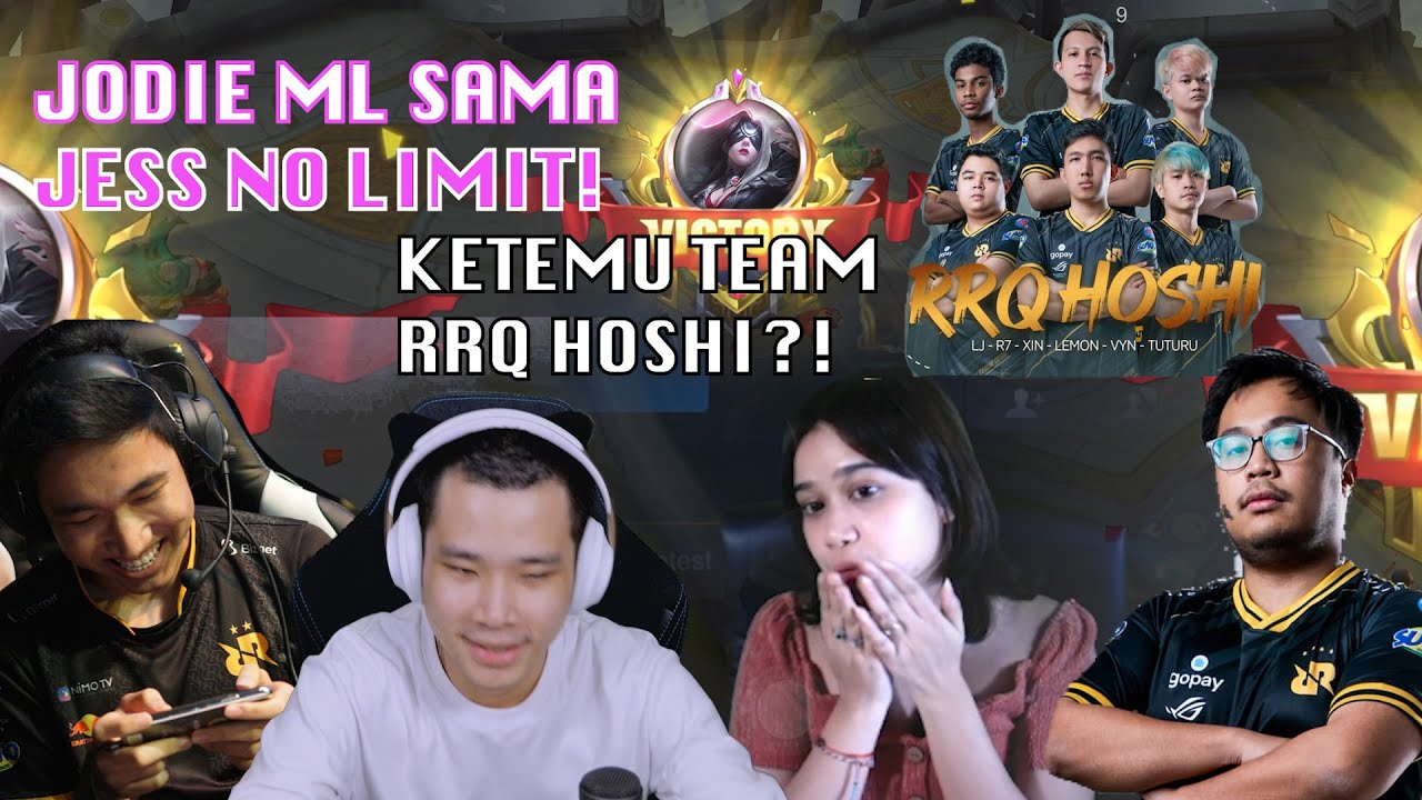 PUSH RANK BARENG JESS NO LIMIT, WIZZKING, LEMON MALAH KETEMU Team RRQ! | JOGING