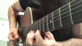 Zakk Wylde Showing His Skills on a Acoustic Guitar  A Minor Pentatonic