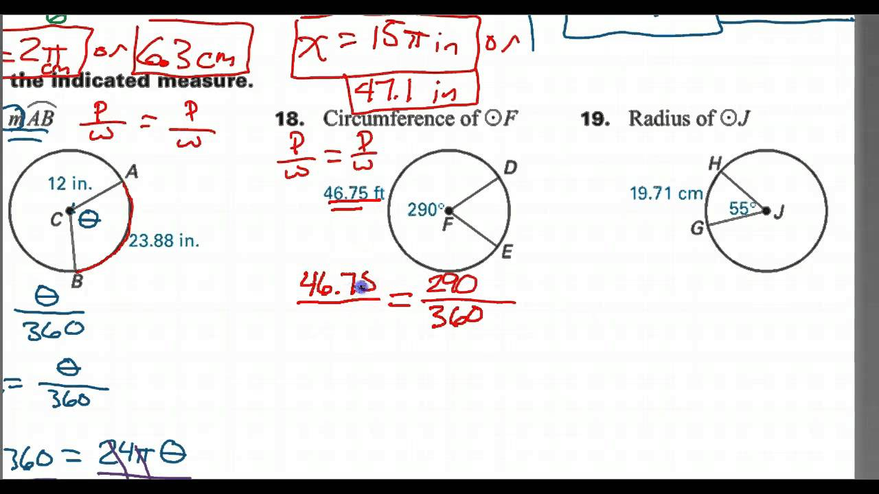 How to find the circumference given the arc length and an angle how to find the circumference given the arc length and an angle youtube ccuart Images