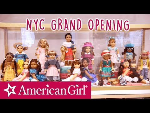 American Girl Place NYC Grand Opening Weekend! | American Girl