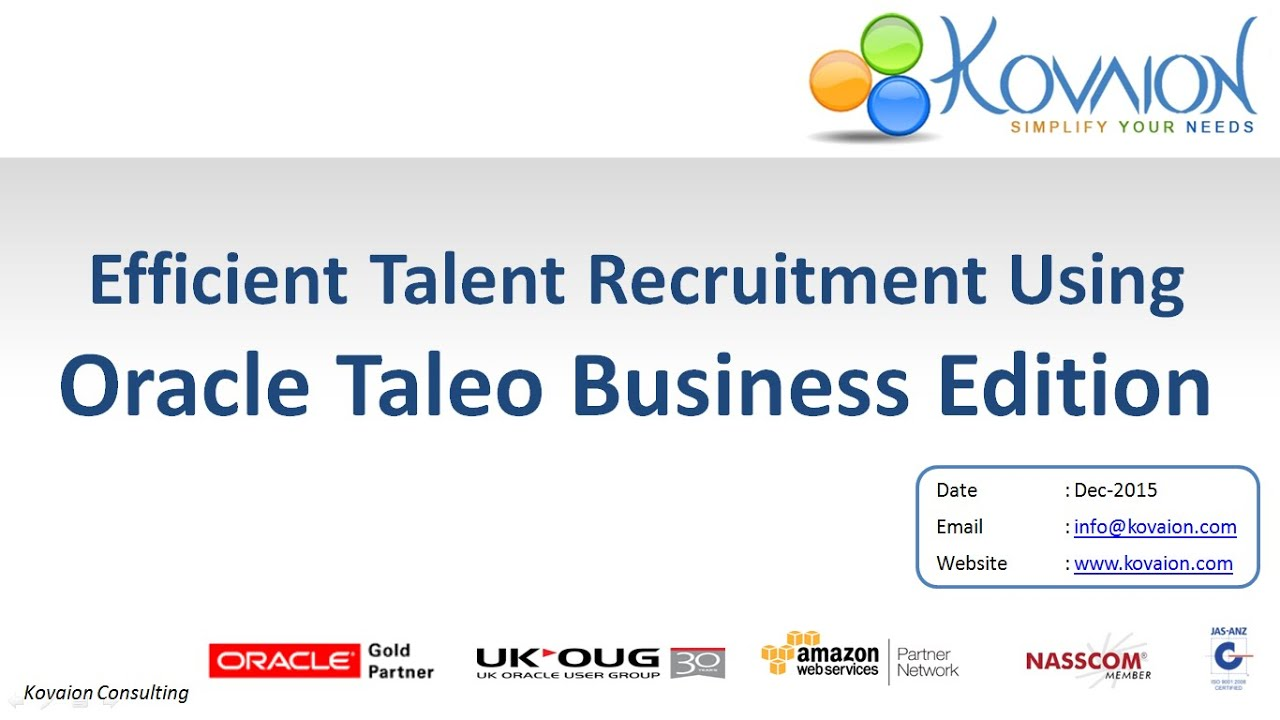 taleo webinar efficient talent recruitment using oracle taleo rh youtube com Taleo Learning Management System Taleo Business Edition Workflow Template
