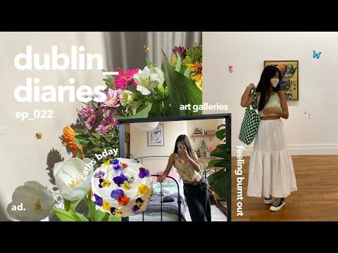 dublin diaries | skincare routine, post grad plans & rut 🌷🌷
