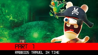 Rabbids Travel In Time 3DS HD Gameplay Walkthrough Part 1