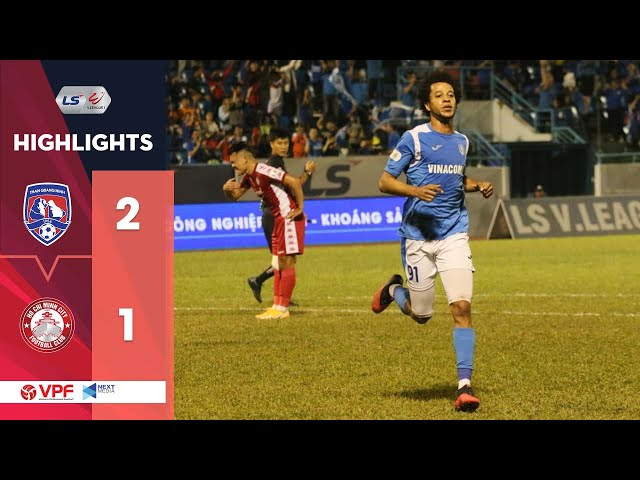 Highlights | Than Quảng Ninh - CLB TP. HCM | 3 điểm quan trọng cho tham vọng vô địch | VPF Media