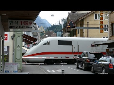 Bahnübergang Interlaken -