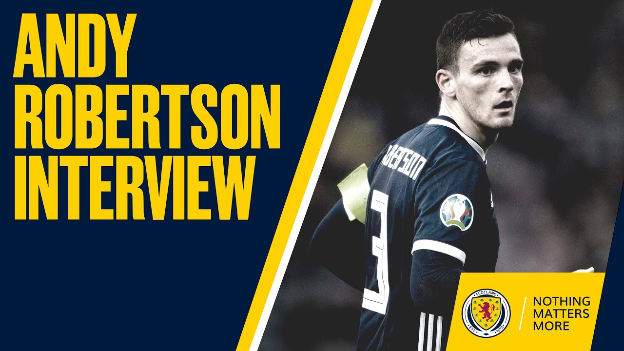the best attitude 2de84 3d709 Andy Robertson Interview | Scotland, Champions League, Liverpool and Peaky  Blinders