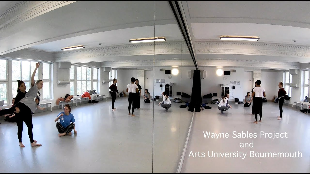 AUB BA (Hons) Dance & Wayne Sables Workshop