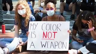 Black Lives Matter demonstration in Ann Arbor, MI