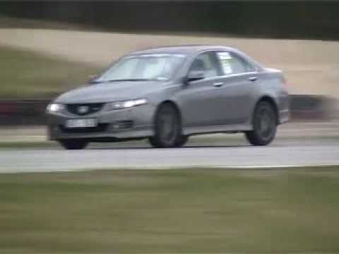 Honda Accord Type S Cl7 Cl9 On Track Youtube