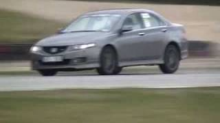 Honda Accord Type-S (CL7-CL9) on track