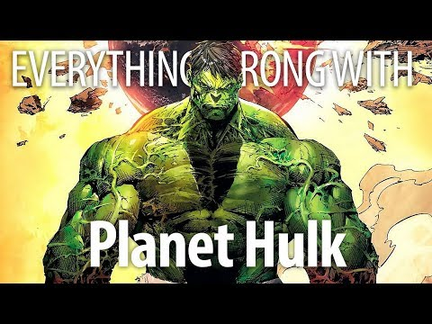 Everything Wrong with Planet Hulk in Smash Minutes or Less