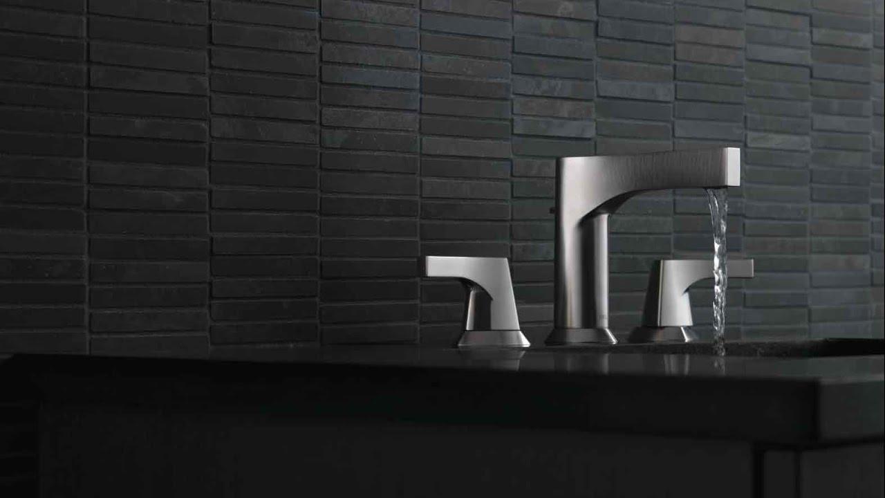 Delta Zura Bath Faucet Collection - YouTube