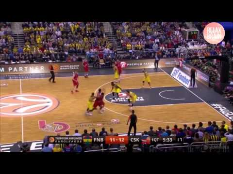 Milos Teodosic final match vs Fenerbache