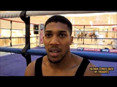 """ANTHONY JOSHUA VS ANDRE WARD - """"ANYTHING IS POSSIBLE""""!!!"""