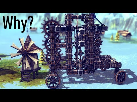 Making the Sketchiest Transmission Ever in Besiege
