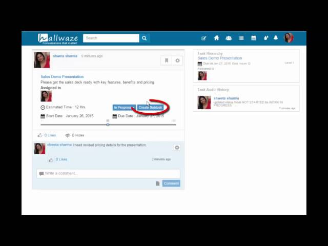 Manage work smartly through Hallwaze Task - YouTube