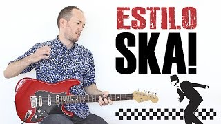 Guitarra Estilo SKA!